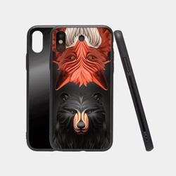 iPhoneX-钢化玻璃保护壳