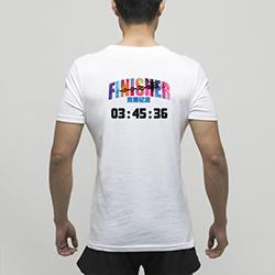 【男子】舒适全棉完赛T恤