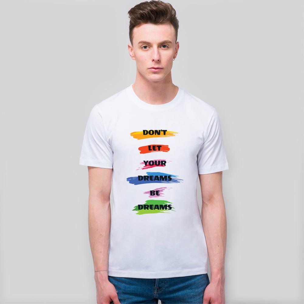 【中性款】极简风格全棉白T恤