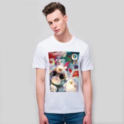 【CCGXBarbukii】男款-全棉白T恤