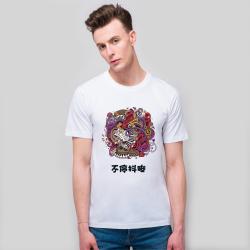 【CCG DIY专供】男款-经典全棉白T恤