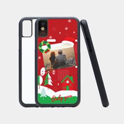 iPhoneX-简约炫黑防滑保护壳